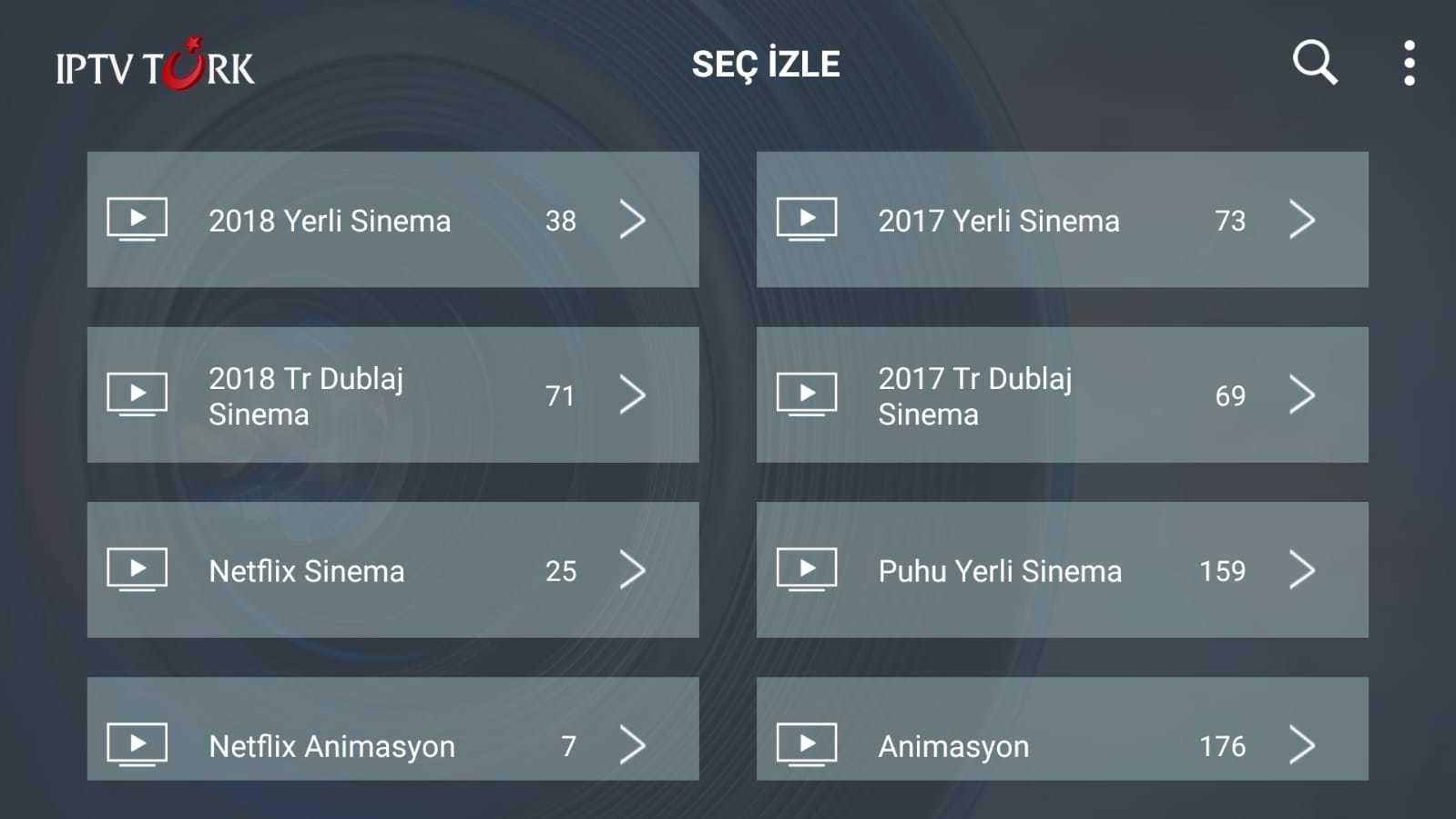 NetFlix,Puhu TV,Almanca,Fransızca,Karaoke Vod Olarak Sistemleri Eklenmiştir.